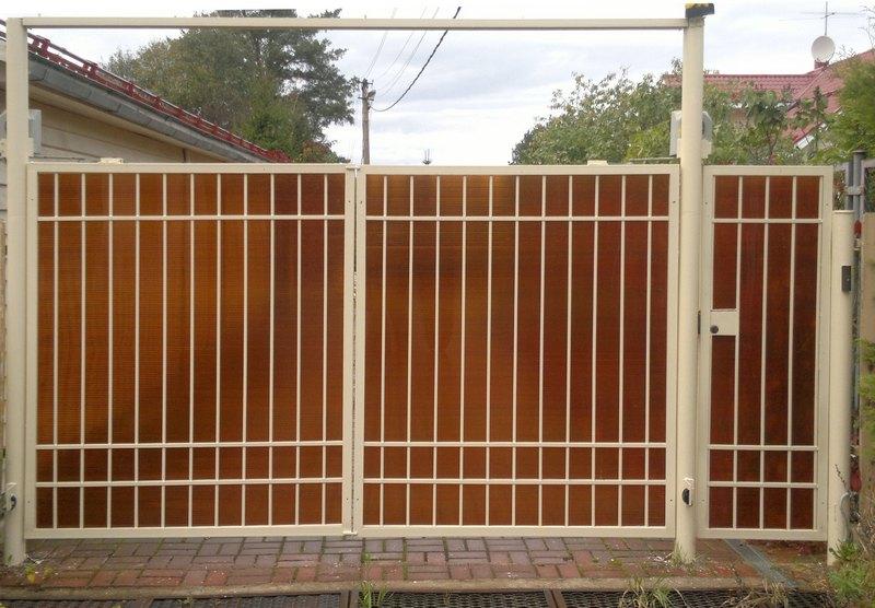Садовые ворота (заборы)