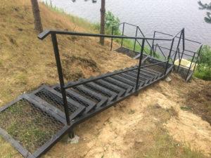 лестница металлическая, заказать лестницу