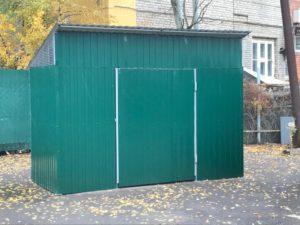 ограждение для контейнеров ТБО, площадка для мусорных контейнеров, купить ограждения для мусорных контейнеров