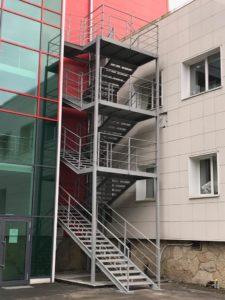 лестница эвакуационная
