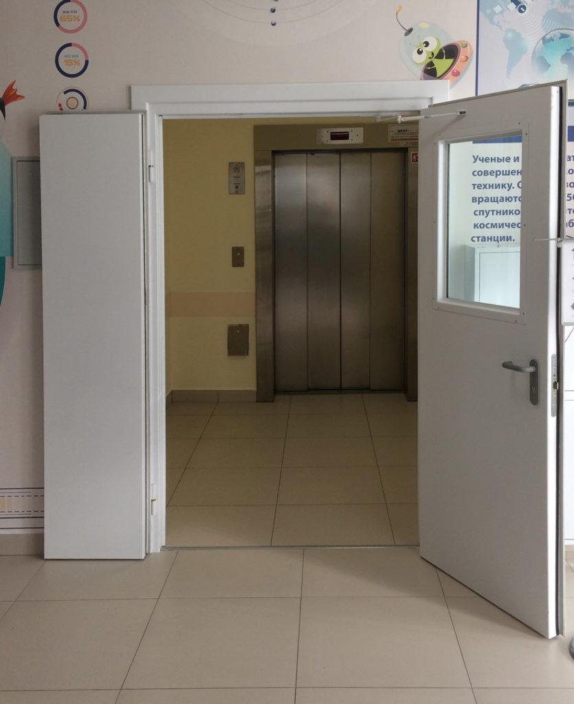 противопожарная дверь без порога