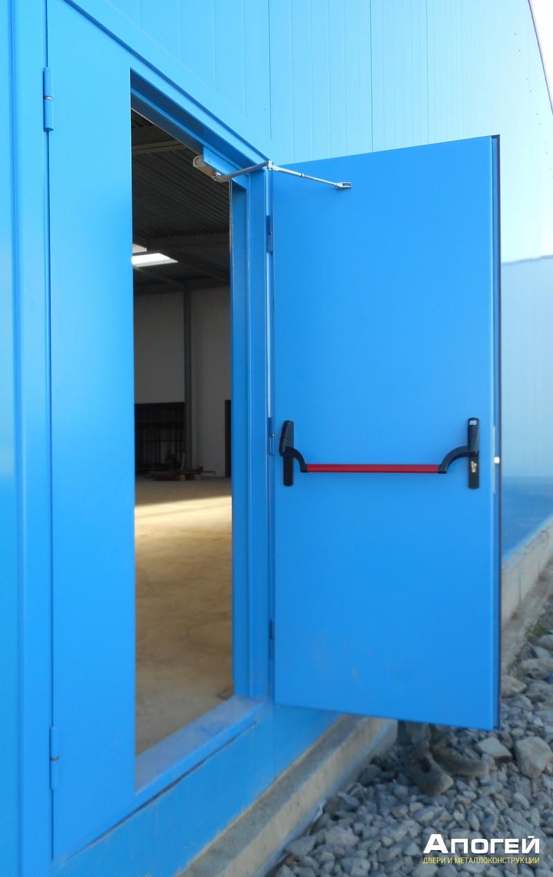 дверь металлическая противопожарные от производителя