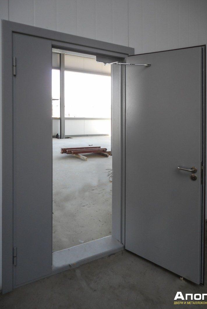 противопожарная дверь, заказать противопожарную дверь, монтаж противопожарной двери, противопожарная дверь с широкой коробкой