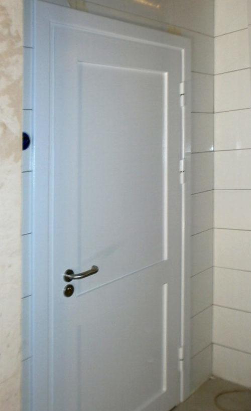 противопожарная дверь с рисунком