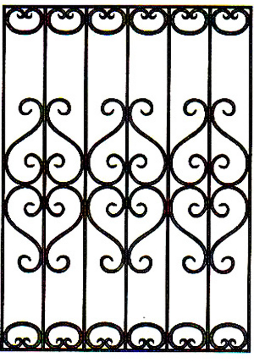 Модели кованых решеток, чертежи решетки оконной бесплатно, фотогалерея красивых решеток, тюремная решетка недорого