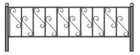 заказь ограду на производсте, ритуальная ограда