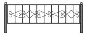 красивая ограда, ограды на выбор спб