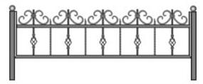 заказь ограду на производстве, ритуальная ограда
