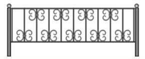 эскизы металлических оград