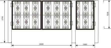 ворота дачные узоры, очень красивые ворота рисунки, фотогалерея ворот на заказ спб, каталог сварных ворот решетчатых