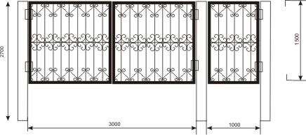 ворота коттеджа элитного, купить калитку с воротами, милые ворота, размеры ворот чертеж, чертежи сварных ворот и калиток где