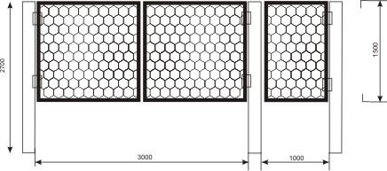 ворота садовые пчелиные